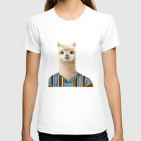 alpaca T-shirts featuring Alpaca by Jenna Caire