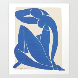 Blue Nude by Henri Matisse  Art Print