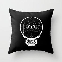 Viduus Throw Pillow