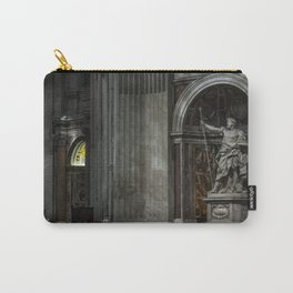 Inside The Vatican Carry-All Pouch