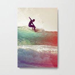Danse avec les vagues Metal Print