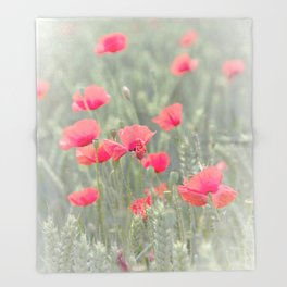 poppy Throw Blanket