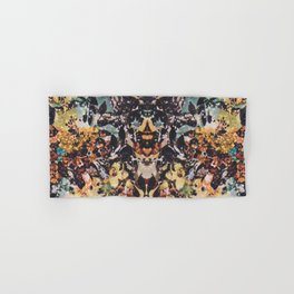 Rorschach Flowers 6 Hand & Bath Towel
