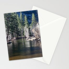 Evergreen and Deciduous Reflecting Stationery Cards