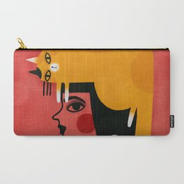 YELLOW CAT HAT Carry-All Pouch