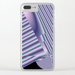 pattern and color -100- Clear iPhone Case