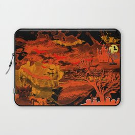 Halloween Story Motif Laptop Sleeve