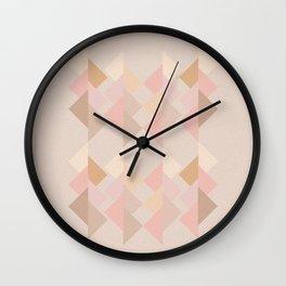 Marshmallow dance Wall Clock