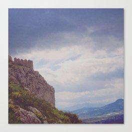 Corinthian Skies Canvas Print