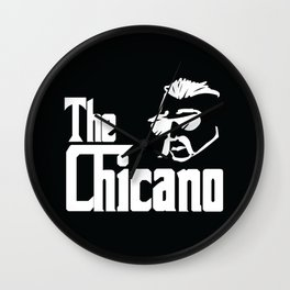 The Chicano (Godfather) Wall Clock
