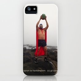 El Chicharron vs. Frankenstorm iPhone Case