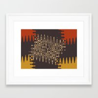 ethnic Framed Art Prints featuring Ethnic by Sonia Marazia