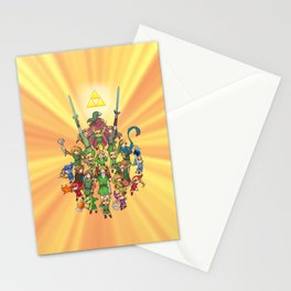 The Legend of Zelda 30th anniversary Stationery Cards
