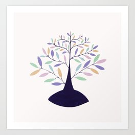 tree of intuition Art Print