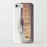 train iPhone & iPod Cases featuring Train by Kristine Ridley Weilert
