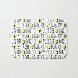 Buzz Off Bath Mat