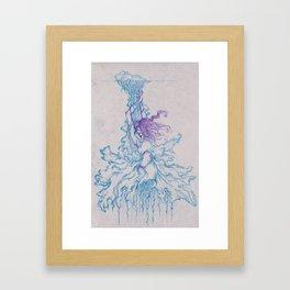 Goddess of War Framed Art Print