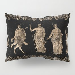 Greek Deities and Meander key ornament Pillow Sham