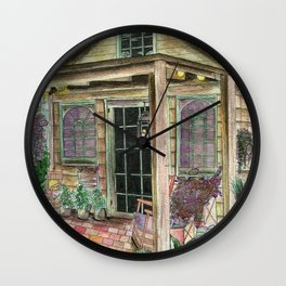 Egg Hunt Wall Clock
