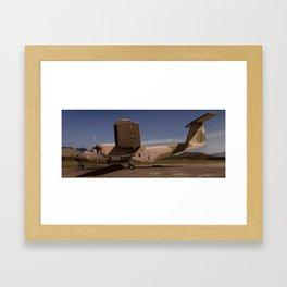 C-115 Bufallo Framed Art Print