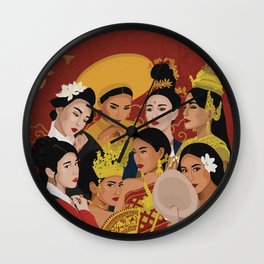 Culture Celebration – Asian Edition Wall Clock
