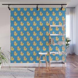 Rubber Ducky Duck Print Seamless Pattern Wall Mural