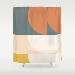 Abstract Geometric 02 Shower Curtain