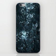 Enchanted blue iPhone Skin