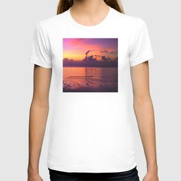 Spectacular Sunset in Tropical Tahiti T-shirt