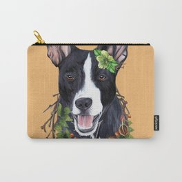 Flower dog Carry-All Pouch