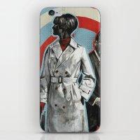superheroes iPhone & iPod Skins featuring Superheroes SF by Troy DeRose