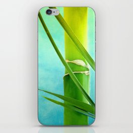 WELLNESS BAMBOO iPhone Skin