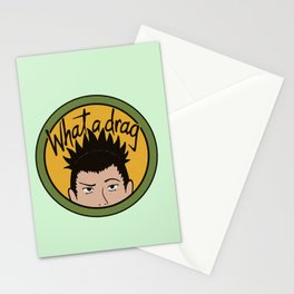Shikamaru What a Drag Stationery Cards