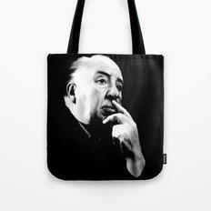 ALFRED HITCHCOCK: Legend Tote Bag