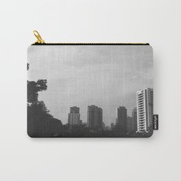 Sao Paulo Black and White Carry-All Pouch