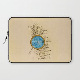 Jin's Compass (Rebel of the Sands) Laptop Sleeve