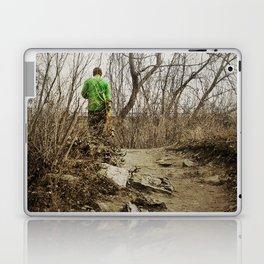Skateboard Stroll Laptop & iPad Skin