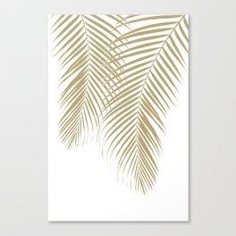 Summer Palm Leaves #1 #tropical #decor #art #society6 Canvas Print