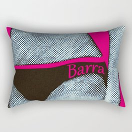 Gerald Laing in Barra Rectangular Pillow