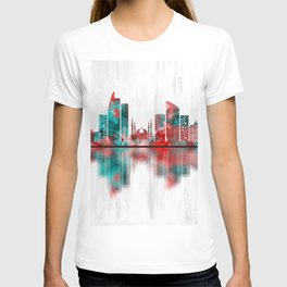 Johor Bahru Malaysia Skyline T-shirt