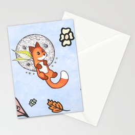 Floating Fox Stationery Cards