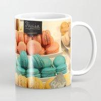 macarons Mugs featuring Macarons by Cristina Cavallari