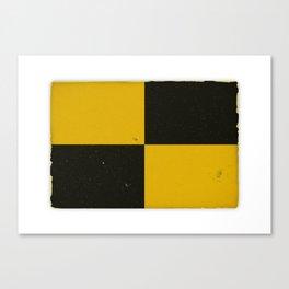 Vintage Nautical Flag Canvas Print