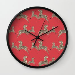 Royal Tenenbaums Wallpaper Wall Clock