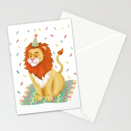 Birthday Leo Stationery Cards