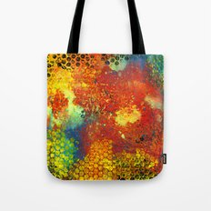 Color Collision Tote Bag
