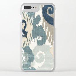 Beach Curry II Clear iPhone Case