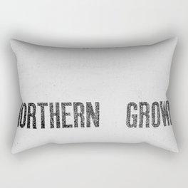 NORTHERN GROWN  White  Rectangular Pillow