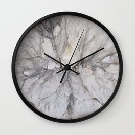 Crystal geode Wall Clock
