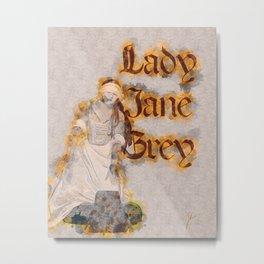 Lady Jane Grey artwork Metal Print
